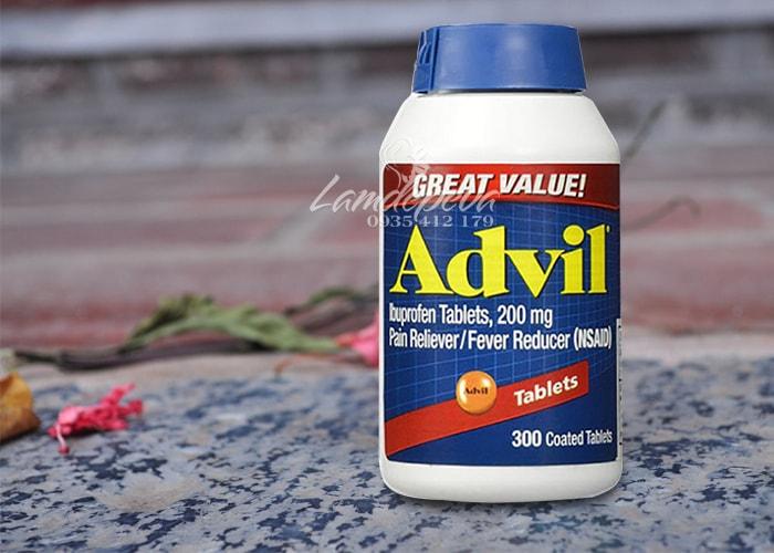 Viên uống giảm đau hạ sốt Advil 300 viên của Mỹ
