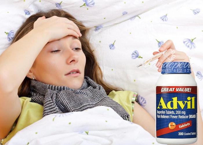 Viên uống giảm đau hạ sốt Advil 300 viên hàng Mỹ