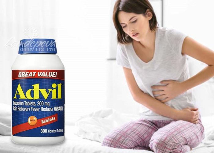Viên uống giảm đau hạ sốt Advil 300 viên của Mỹ-giảm đau hiệu quả, nhanh chóng