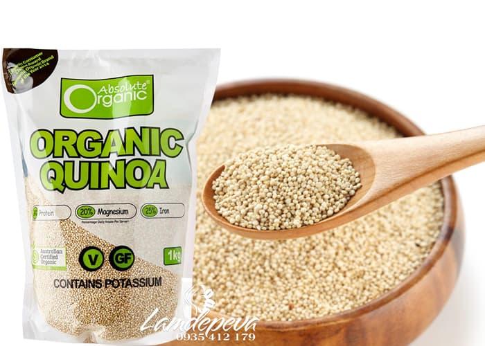 Hạt diêm mạch Organic Quinoa 1kg-Hạt diêm mạch hữu cơ