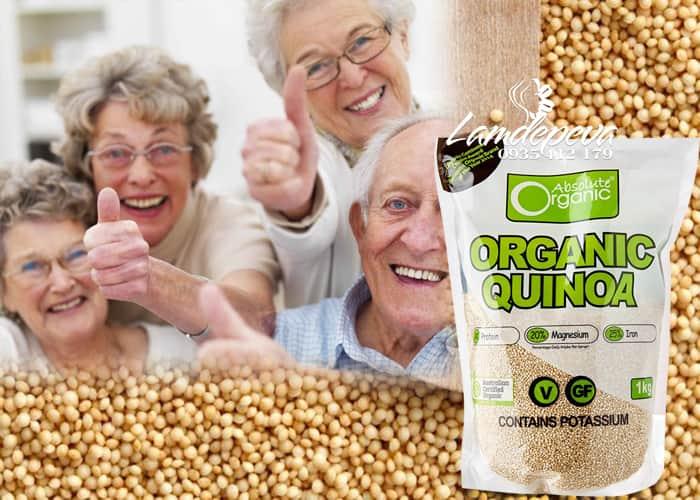 Hạt diêm mạch Organic Quinoa 1kg của Úc
