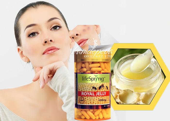 Sữa ong chúa cao cấp LifeSpring Royal Jelly 1000mg của Úc 2