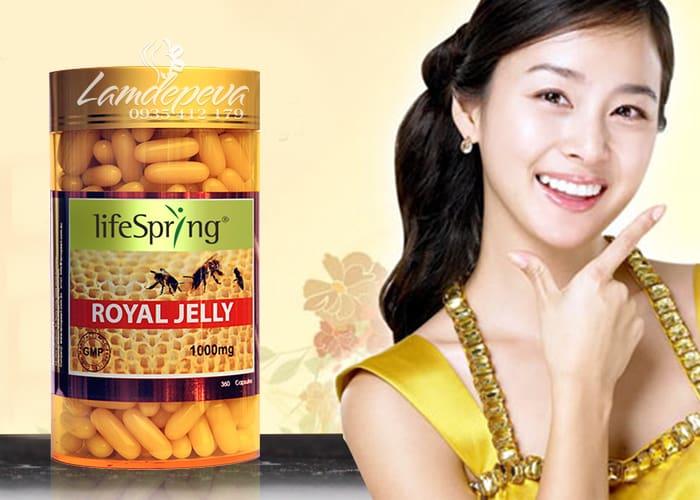 Sữa ong chúa cao cấp LifeSpring Royal Jelly 1000mg của Úc 3