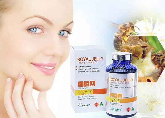 Sữa ong chúa Careline Royal Jelly 1000mg 300 viên của Úc 3