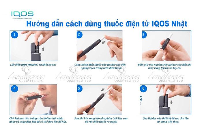 cách dùng thuốc lá iqos