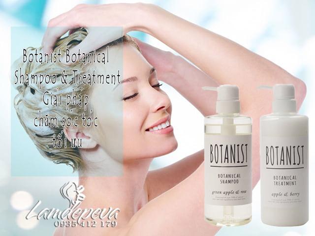 Botanist Botanical Shampoo & Treatment của Nhật Bản