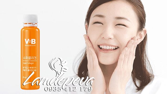 Vì sao nên chọn nước uống VB Vital Beautie Super Collagen của Hàn Quốc