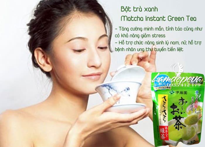 Bột trà xanh nguyên chất Matcha Itoen bịch 80g  2