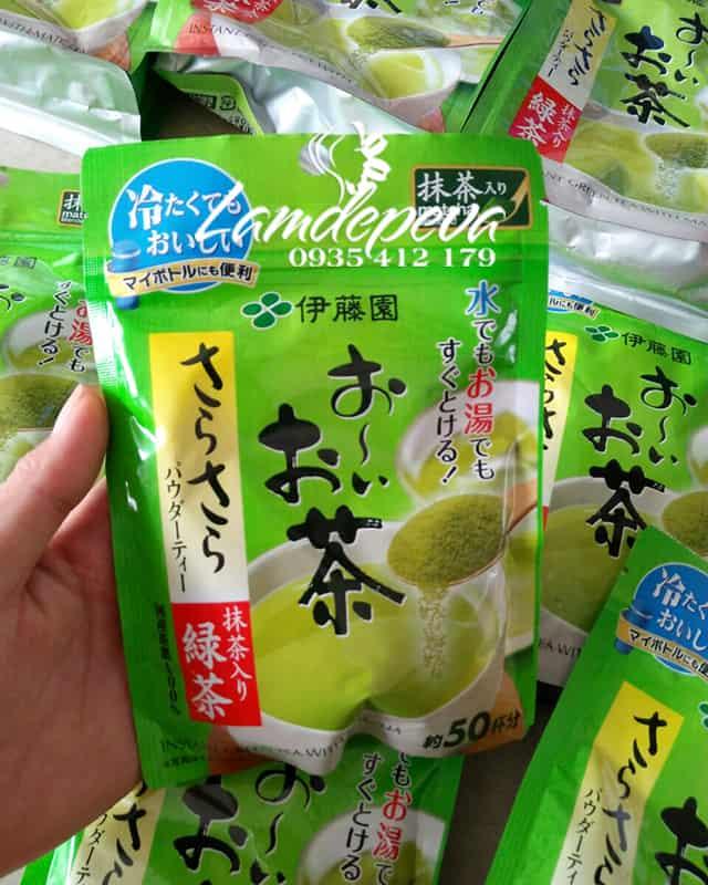 Bột trà xanh nguyên chất Matcha Itoen bịch 80g  1