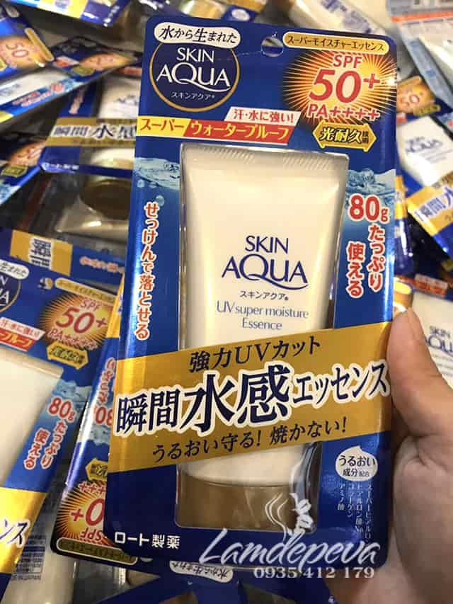 Kem chống nắng Skin Aqua UV Super Moisture Essence 80g 1