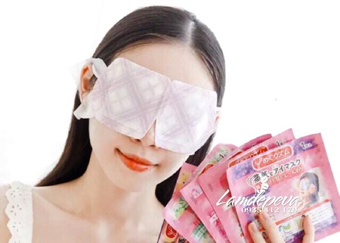 Mặt nạ ngủ chống thâm mắt Kao của Nhật Bản 1