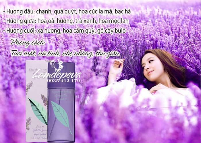 Nước hoa cho nữ Elizabeth Arden Green Tea Lavender EDT 100ml 2