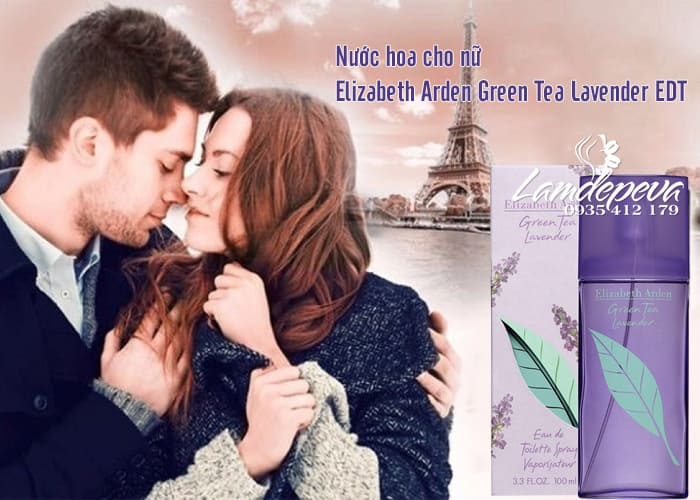 Nước hoa cho nữ Elizabeth Arden Green Tea Lavender EDT 100ml 1