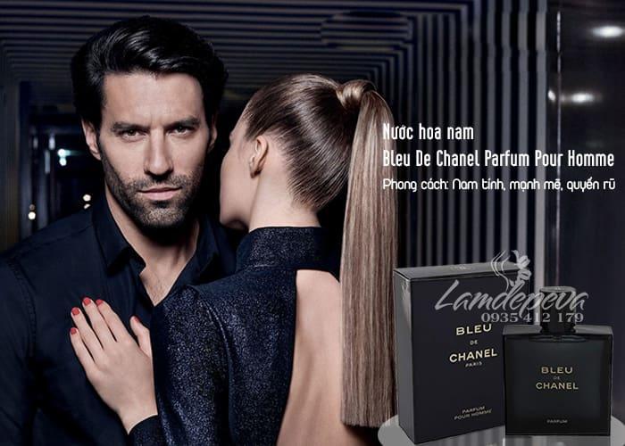 Nước hoa nam Bleu De Chanel Parfum Pour Homme 100ml 2
