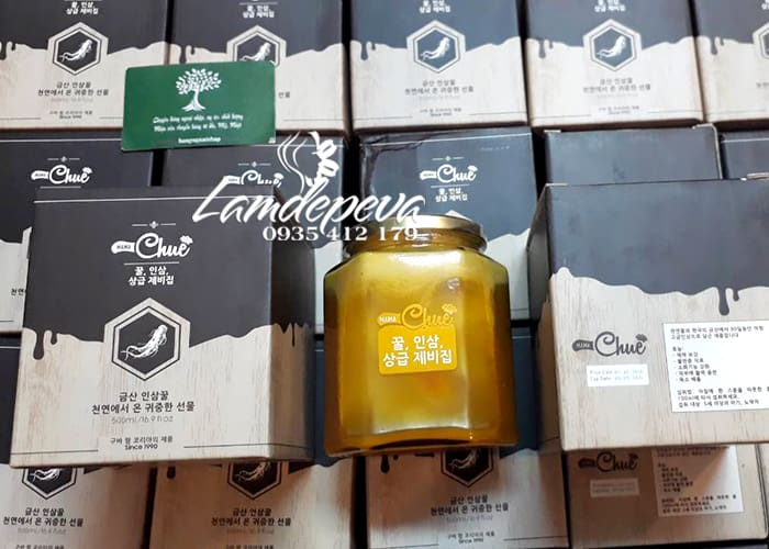 Sâm nghệ mật ong Mama Chuê Hàn Quốc 500g chính hãng 4
