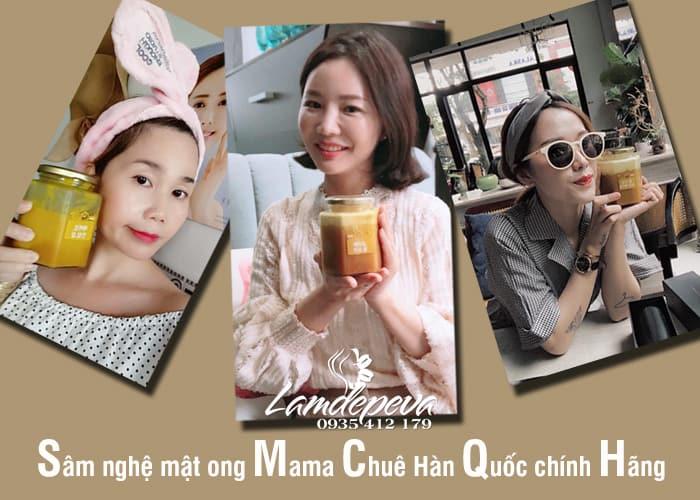 Sâm nghệ mật ong Mama Chuê Hàn Quốc 500g chính hãng 2