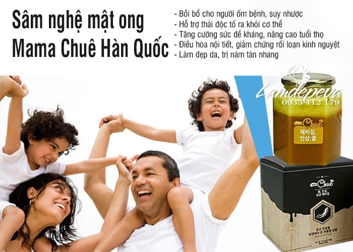 Sâm nghệ mật ong Mama Chuê Hàn Quốc 500g chính hãng 3