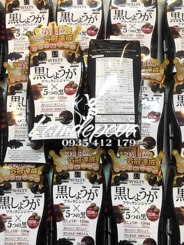 Thuốc giảm cân Svelty Quality Diet 150 viên của Nhật Bản hiệu quả 6
