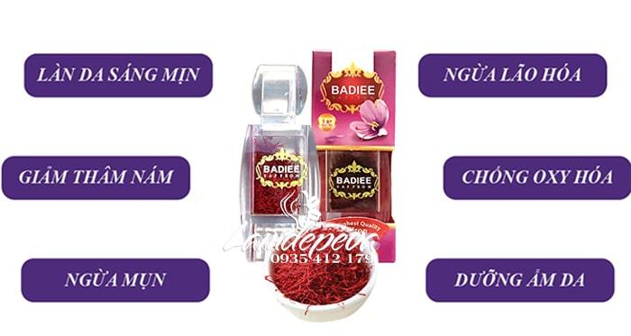 Nhụy hoa nghệ tây Badiee Saffron hộp 1gr chính hãng Iran 3