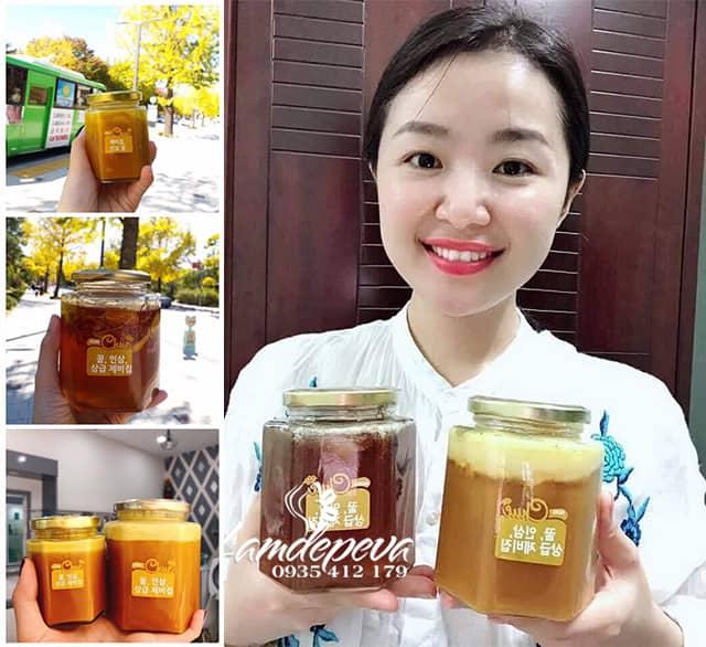 Sâm mật ong Saffron Mama Chuê 500g của Hàn Quốc 2