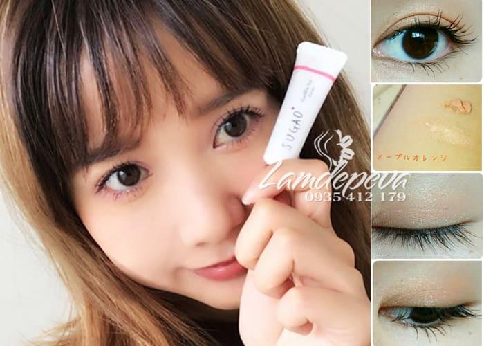 Kem mắt Sugao Nhật - Sugao Souffle Eye Color tuýp 7g đủ màu 1