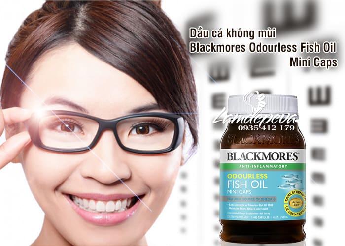 Dầu cá không mùi Blackmores Odourless Fish Oil Mini Caps 1