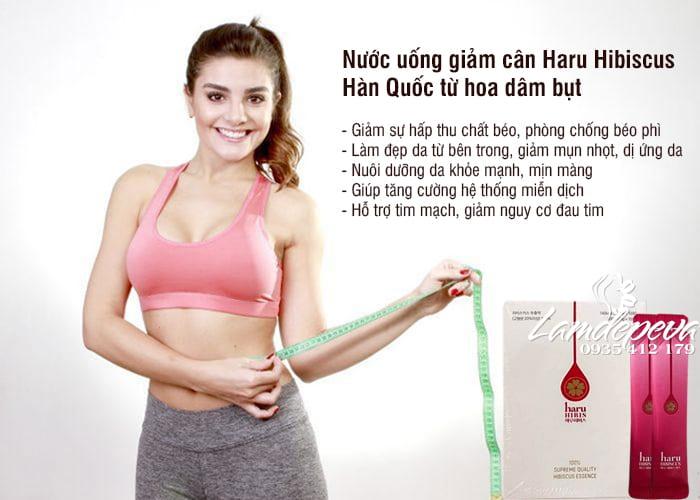 Nước uống giảm cân Haru Hibiscus Hàn Quốc từ hoa dâm bụt 7