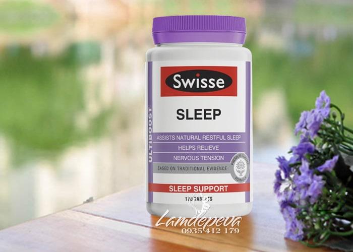Viên uống hỗ trợ giấc ngủ Swisse Ultiboost Sleep 100 viên của Úc 1