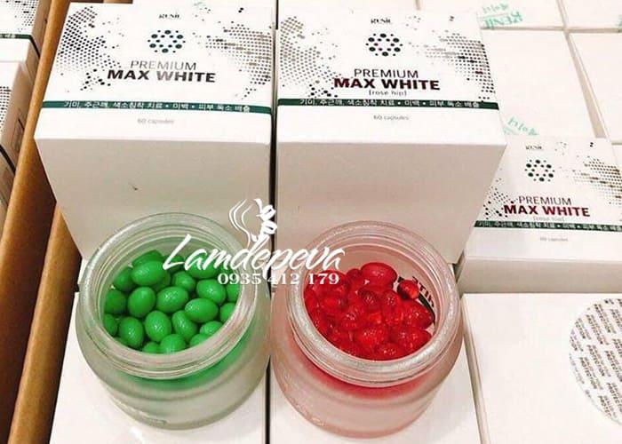 Viên uống trắng da Premium Max White Genie Hàn Quốc 60 viên 1