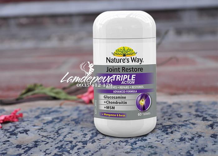 Viên uống bổ khớp Natures Way Joint Restore Triple Action 60v 1