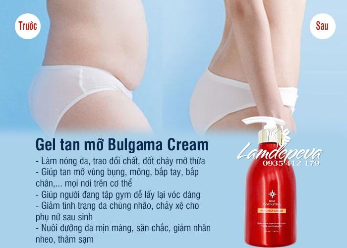 Gel tan mỡ Bulgama Cream Hàn Quốc hiệu quả số 1 5