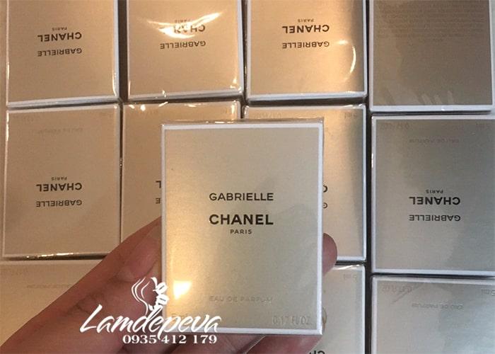 Nước hoa nữ Gabrielle Chanel 5ml For Women chính hãng Pháp 3