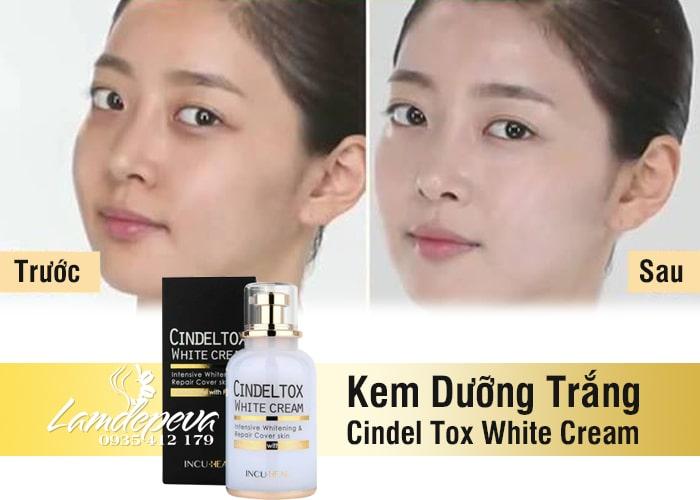 Kem dưỡng trắng Cindel Tox White Cream 50ml Hàn Quốc 1
