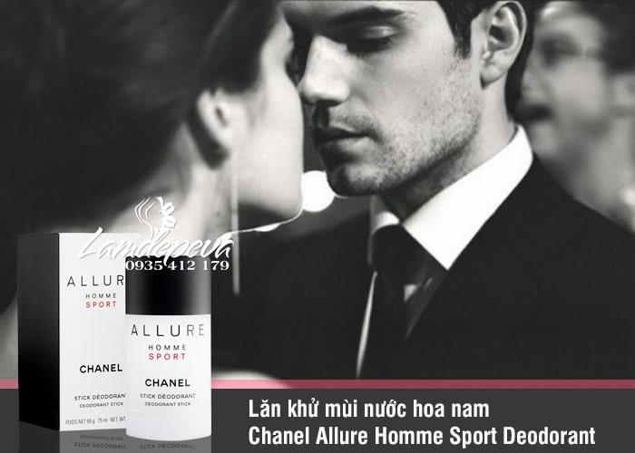 Lăn khử mùi nước hoa nam Chanel Allure Homme Sport Deodorant 1
