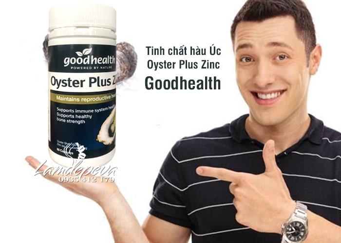 Tinh chất hàu Oyster Plus Zinc Goodhealth mẫu mới nhất 60 viên 1