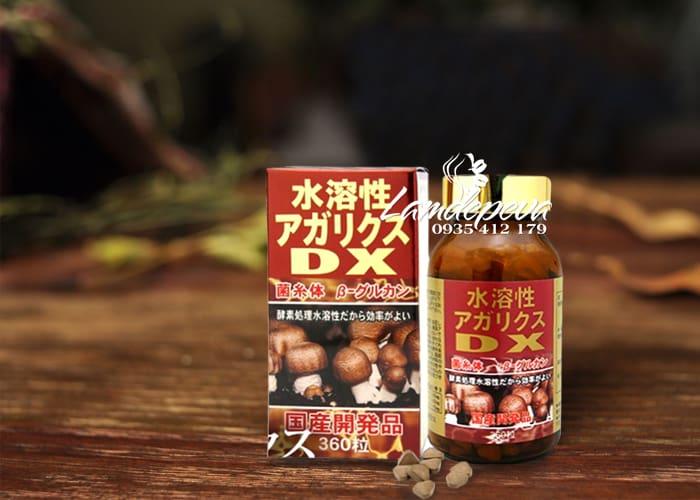 Viên nấm Agaricus DX 360 viên - Nấm thái dương DX Nhật Bản 1