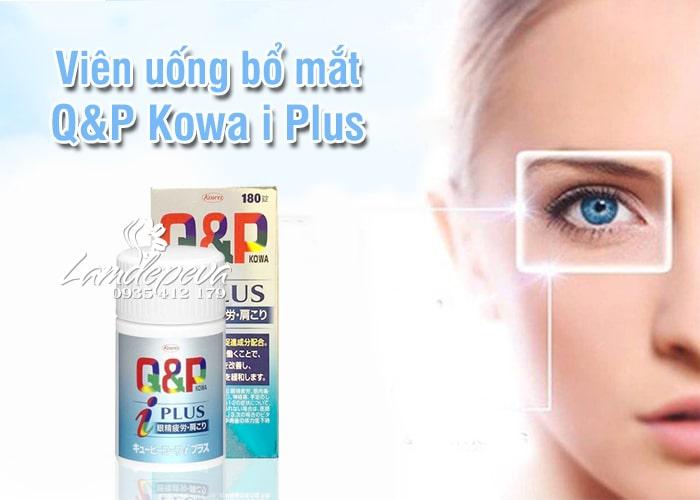 Viên uống bổ mắt Q&P Kowa i Plus Nhật Bản, giá tốt nhất 3