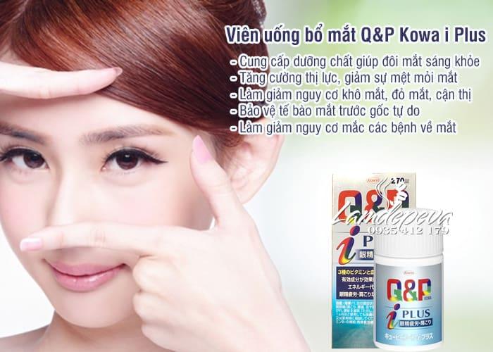 Viên uống bổ mắt Q&P Kowa i Plus Nhật Bản, giá tốt nhất 2