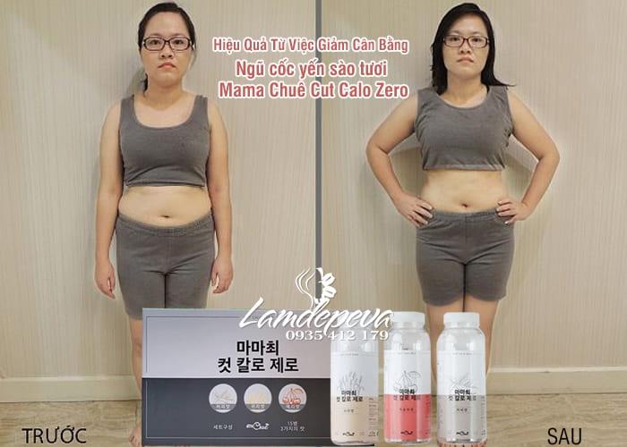 Ngũ cốc yến sào tươi Mama Chuê Cut Calo Zero Hàn Quốc 2