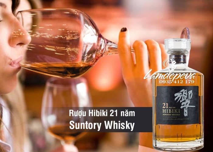 Rượu Hibiki 21 năm Suntory Whisky Nhật Bản chai 700ml 5