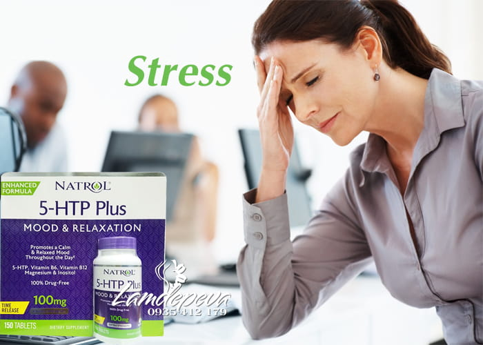 Viên uống giảm căng thẳng Natrol 5-HTP Plus hộp 150 viên 1