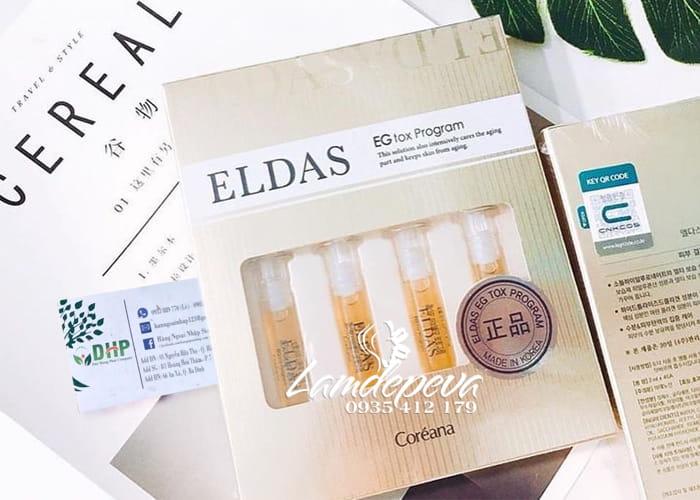 Serum tế bào gốc Eldas EG Tox Program Coreana 4 ống 1