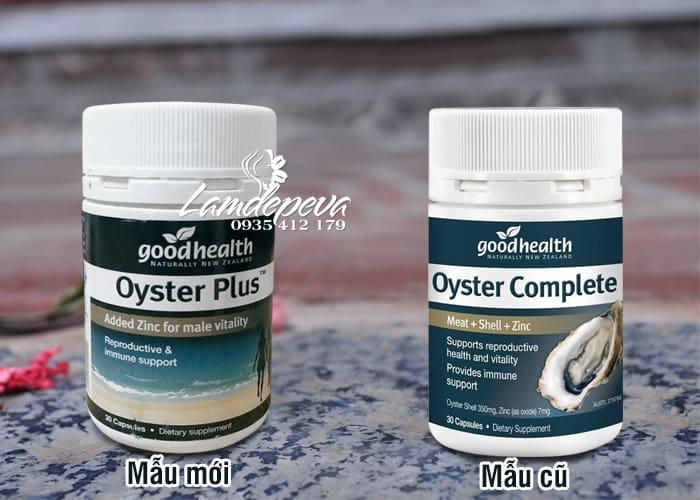 Viên uống tinh chất hàu Goodhealth Oyster Plus 30v mẫu mới 3