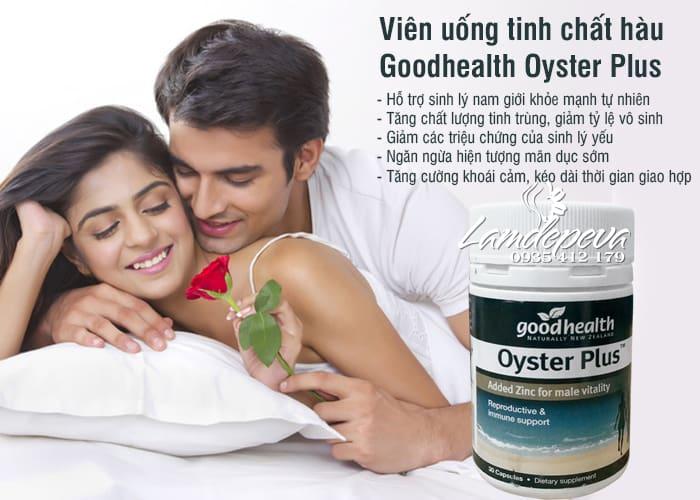 Viên uống tinh chất hàu Goodhealth Oyster Plus 30v mẫu mới 2