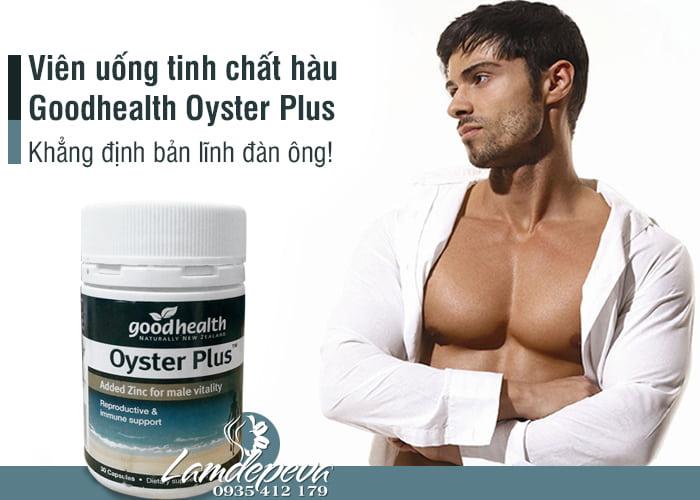 Viên uống tinh chất hàu Goodhealth Oyster Plus 30v mẫu mới 1