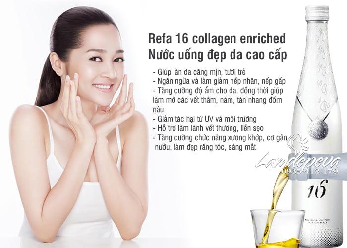 Refa 16 collagen enriched - Nước uống đẹp da cao cấp của Nhật