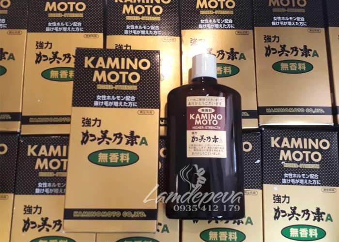 Tinh dầu mọc tóc Kaminomoto Higher Strength 200ml Nhật 7