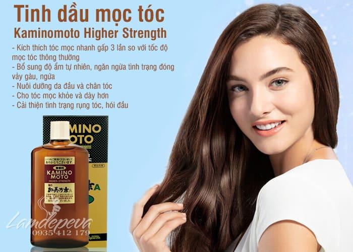 Tinh dầu mọc tóc Kaminomoto Higher Strength 200ml Nhật 6