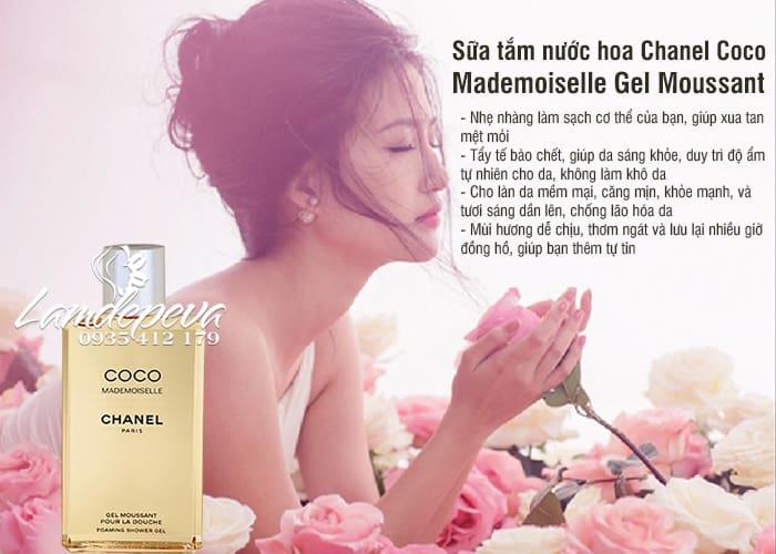 Sữa tắm nước hoa Chanel Coco Mademoiselle Gel Moussant Pháp 3