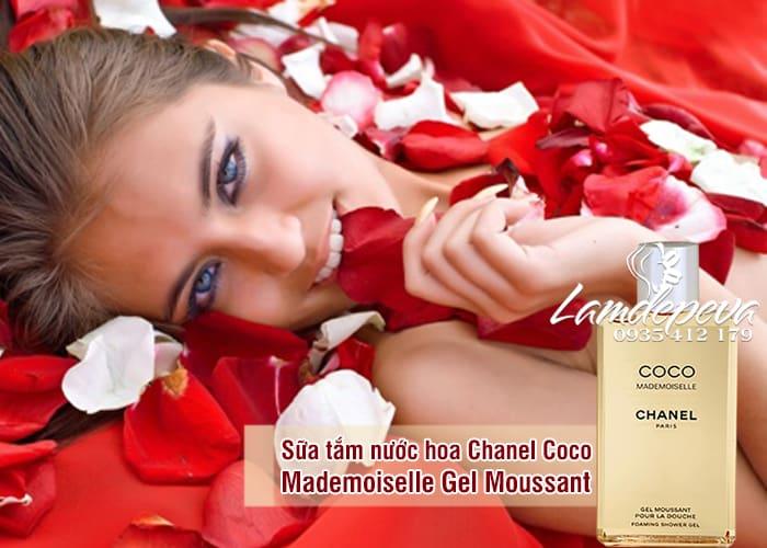 Sữa tắm nước hoa Chanel Coco Mademoiselle Gel Moussant Pháp 6